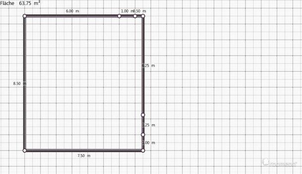 Raumgestaltung Werfen in der Kategorie Wohnzimmer