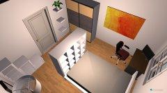 Raumgestaltung WG-Zimmer - Version 2 in der Kategorie Wohnzimmer