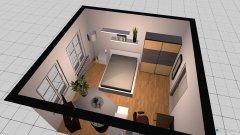 Raumgestaltung WG-Zimmer - Version 3 in der Kategorie Wohnzimmer