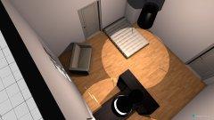 Raumgestaltung WGZimmer in der Kategorie Wohnzimmer