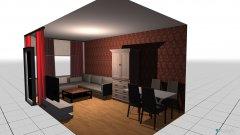 Raumgestaltung whgzimmer in der Kategorie Wohnzimmer