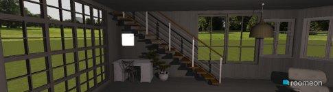 Raumgestaltung white & red in der Kategorie Wohnzimmer