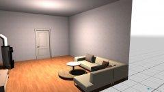 Raumgestaltung whonzimmer in der Kategorie Wohnzimmer