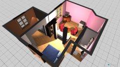 Raumgestaltung Willa Nad Oczkiem Raum 1 in der Kategorie Wohnzimmer