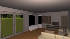 Raumgestaltung Wimberger ohne Schiebeelement in der Kategorie Wohnzimmer
