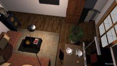 Raumgestaltung Wiohnzimmer Variante 1 in der Kategorie Wohnzimmer