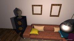 Raumgestaltung Wiohnzimmer Variante 5 in der Kategorie Wohnzimmer