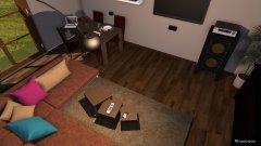 Raumgestaltung Wiohnzimmer Variante 6 in der Kategorie Wohnzimmer