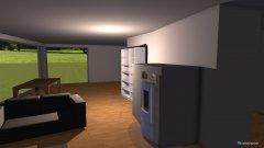 Raumgestaltung wohn 2 in der Kategorie Wohnzimmer