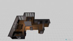 Raumgestaltung Wohn-Ess-Bereich V2 in der Kategorie Wohnzimmer