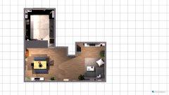 Raumgestaltung Wohn Ess Zimmer in der Kategorie Wohnzimmer