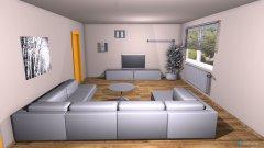 Raumgestaltung wohn+ess in der Kategorie Wohnzimmer