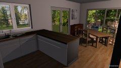 Raumgestaltung Wohn-Essbereich in der Kategorie Wohnzimmer