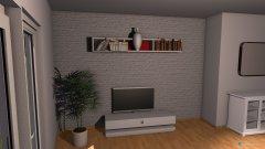 Raumgestaltung Wohn Essbereich in der Kategorie Wohnzimmer