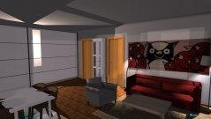 Raumgestaltung Wohn-Esszimmer Ferienwohnung in der Kategorie Wohnzimmer