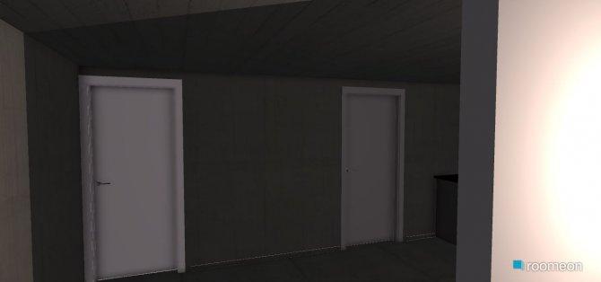 Raumgestaltung Wohn-Esszimmer Hirschdell in der Kategorie Wohnzimmer