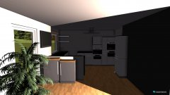 Raumgestaltung Wohn- Esszimmer, Küche unten in der Kategorie Wohnzimmer