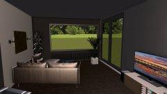 Raumgestaltung Wohn-, Eßzimmer in der Kategorie Wohnzimmer