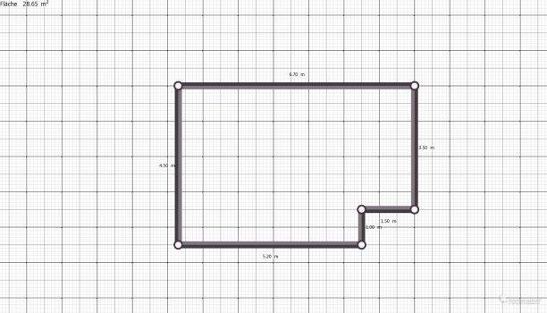 Raumgestaltung wohn küche in der Kategorie Wohnzimmer