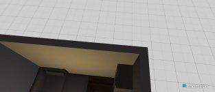 Raumgestaltung Wohn-,Schlafraum in der Kategorie Wohnzimmer