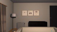 Raumgestaltung Wohn-Schlafzimmer alternative in der Kategorie Wohnzimmer