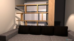 Raumgestaltung Wohn-Schlafzimmer neu 1 in der Kategorie Wohnzimmer