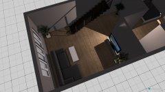Raumgestaltung Wohn-, Schlafzimmer in der Kategorie Wohnzimmer
