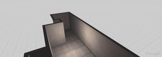 Raumgestaltung Wohn- ssbereich in der Kategorie Wohnzimmer