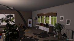 Raumgestaltung Wohn- u. Esszimmer in der Kategorie Wohnzimmer