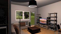Raumgestaltung Wohn und Ess bereich in der Kategorie Wohnzimmer