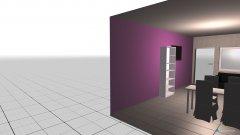 Raumgestaltung Wohn- und Essraum in der Kategorie Wohnzimmer