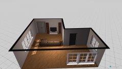Raumgestaltung Wohn- und Esszimer in der Kategorie Wohnzimmer