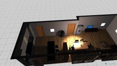 Raumgestaltung Wohn und Esszimmer , Küche  in der Kategorie Wohnzimmer
