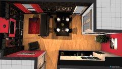 Raumgestaltung Wohn- und Esszimmer Pauli in der Kategorie Wohnzimmer