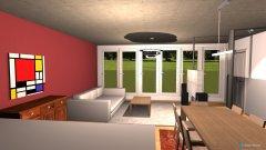Raumgestaltung Wohn3 in der Kategorie Wohnzimmer