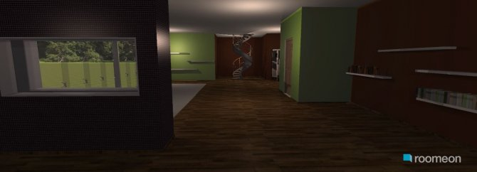 Raumgestaltung wohn in der Kategorie Wohnzimmer
