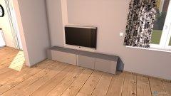 Raumgestaltung Wohn_Ess_Küche in der Kategorie Wohnzimmer