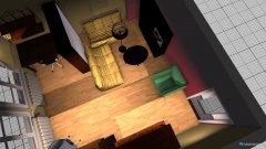 Raumgestaltung wohnarbeitszimmer in der Kategorie Wohnzimmer