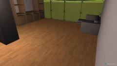 Raumgestaltung Wohnbereich in der Kategorie Wohnzimmer