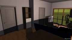 Raumgestaltung Wohnen am Fluss in der Kategorie Wohnzimmer