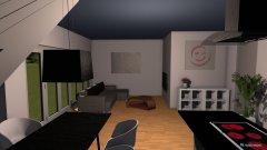 Raumgestaltung Wohnen EssenIII in der Kategorie Wohnzimmer