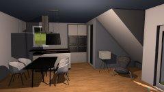 Raumgestaltung Wohnen EssenIIIA in der Kategorie Wohnzimmer