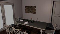 Raumgestaltung Wohnen und Essen in der Kategorie Wohnzimmer