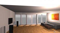 Raumgestaltung Wohnen zum Garten neu ohne Wand in der Kategorie Wohnzimmer