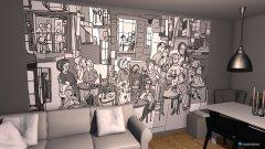 Raumgestaltung Wohnen2 in der Kategorie Wohnzimmer