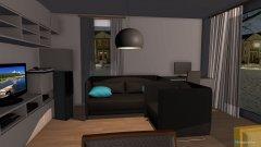 Raumgestaltung WohnenEssenKochen in der Kategorie Wohnzimmer