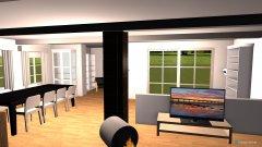 Raumgestaltung Wohness mit Ercker in der Kategorie Wohnzimmer