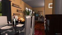 Raumgestaltung Wohngrundriss in der Kategorie Wohnzimmer
