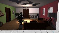 Raumgestaltung Wohngruppe in der Kategorie Wohnzimmer