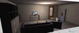 Raumgestaltung Wohnhaus in der Kategorie Wohnzimmer